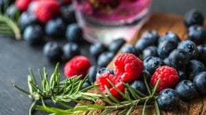 herbs and berries