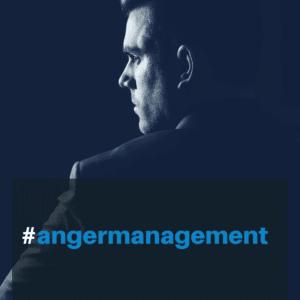 banner for anger management profile of man