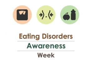 banner for eating disorders awareness week