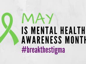banner for mental health awareness month