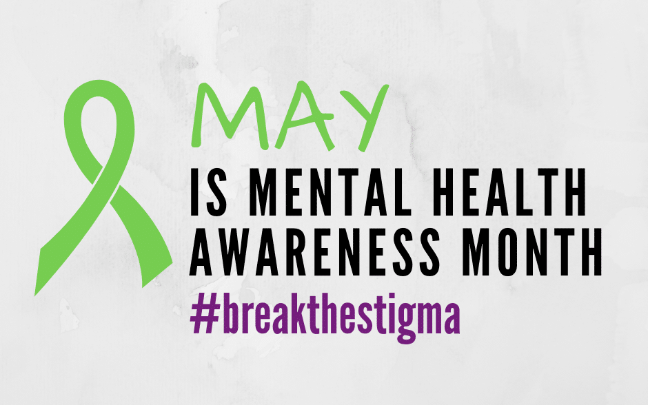 banner for mental health awareness month